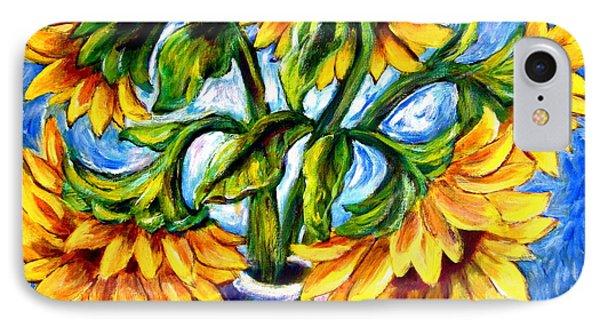 Big Sunflowers IPhone Case