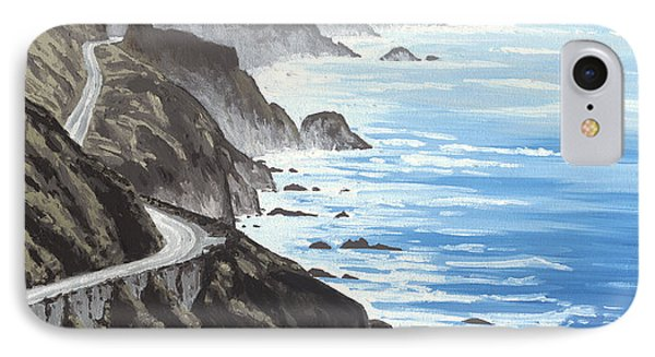 Big Sur IPhone Case by Andrew Palmer