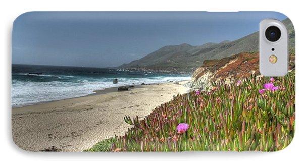 Big Sur Beach Phone Case by Jane Linders