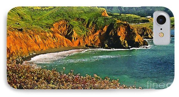 Big Sur California Coastline Phone Case by Bob and Nadine Johnston