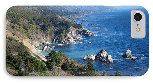 Big Sur Coast Ca IPhone Case by Debra Thompson