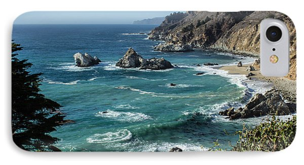 Big Sur Coast From Julia Pfeiffer Burns IPhone Case by Suzanne Luft