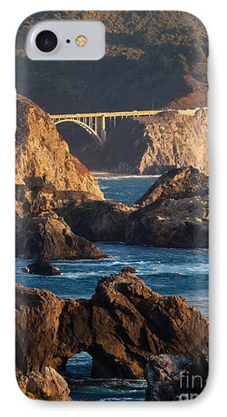 Big Sur Coastal Serenity IPhone Case by Mike Reid