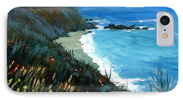 Big Sur Coastline IPhone Case by Alice Leggett