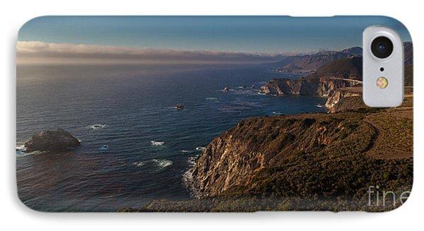 Big Sur Headlands IPhone Case by Mike Reid