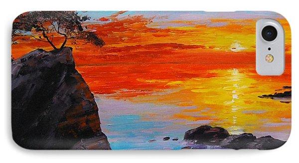 Big Sur Sunset IPhone Case by Graham Gercken
