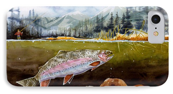 Big Thompson Trout IPhone Case by Craig T Burgwardt