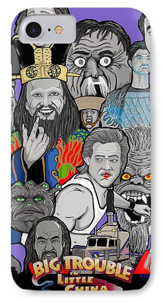 Big Trouble Phone Case by Gary Niles