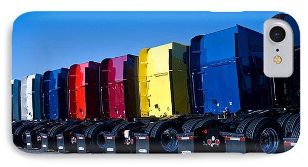 Big Trucks 2 IPhone Case by Douglas Barnett