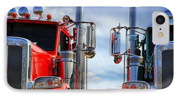 Big Trucks Phone Case by Bob Orsillo