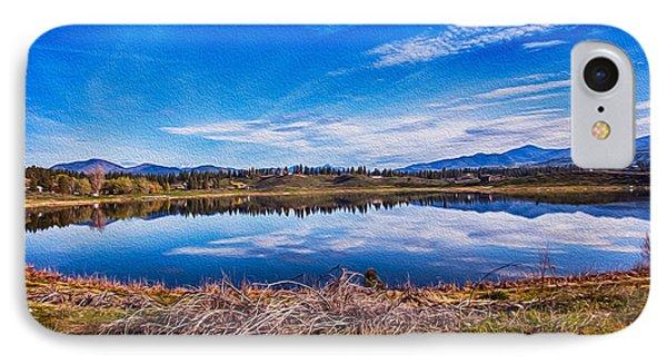 Big Twin Lake Phone Case by Omaste Witkowski