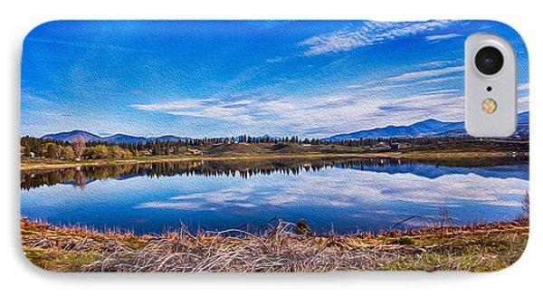 Big Twin Lake IPhone Case by Omaste Witkowski