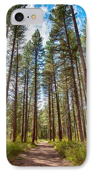 Big Valley Views Mvsta Trail IPhone Case by Omaste Witkowski