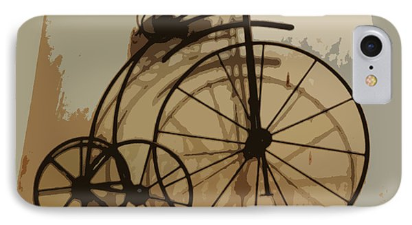 Big Wheel Trike IPhone Case by Ecinja Art Works