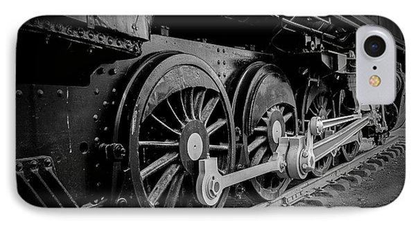 Big Wheels Phone Case by Herbert Seiffert