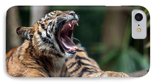 Big Yawn Phone Case by Ray Warren