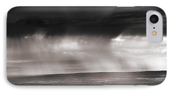 Bighorn Basin Rain IPhone Case by Leland D Howard