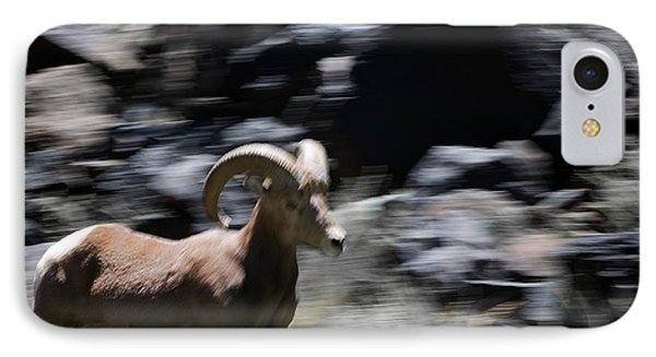 Bighorn Blur Phone Case by Britt Runyon
