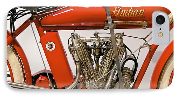 Bike - Motorcycle - Indian Motorcycle Engine IPhone Case