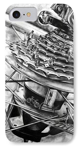 Bike Park IPhone Case by Celia Feldberg