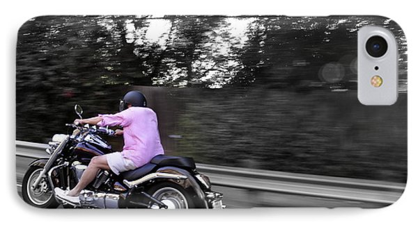 IPhone Case featuring the photograph Biker by Gandz Photography