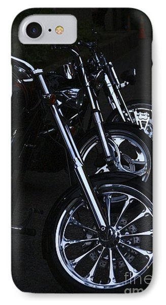 Bikes In The Night IPhone Case