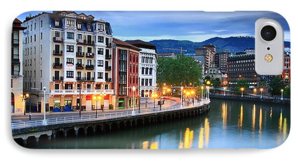 IPhone Case featuring the photograph Bilbao 2 by Mariusz Czajkowski