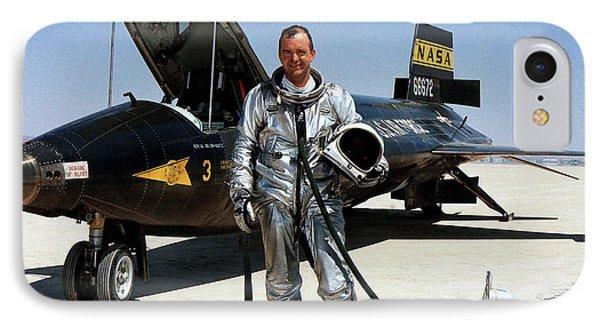 Bill Dana As X-15 Test Pilot IPhone Case by Nasa