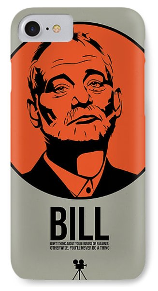Bill Poster 3 IPhone Case by Naxart Studio