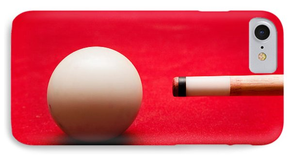 Billards Pool Game IPhone Case by Michal Bednarek