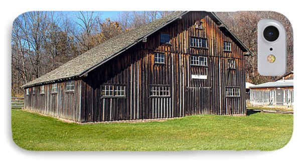 Billie Creek Barn IPhone Case by Thomas Sellberg