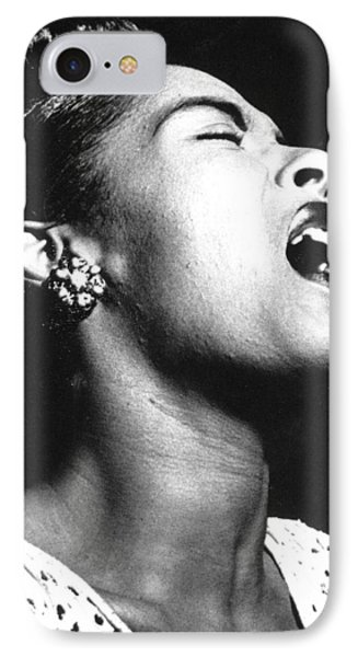 Billie Holiday (1915-1959) Phone Case by Granger
