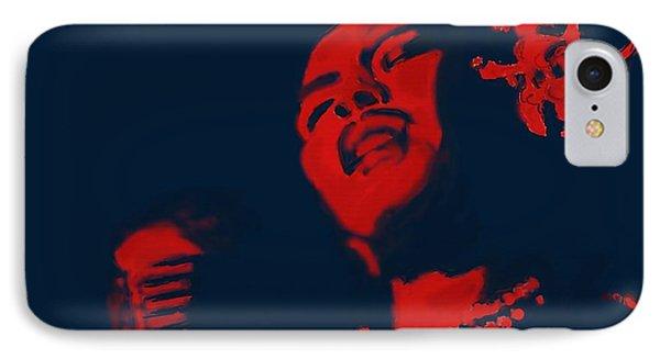 Billie Holiday IPhone Case by Vannetta Ferguson