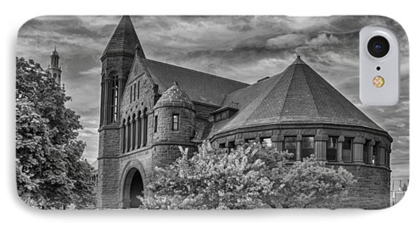 Billings Library At Uvm Burlington  IPhone Case