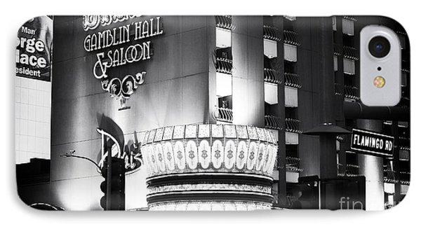 Bill's Gamblin Hall Phone Case by John Rizzuto