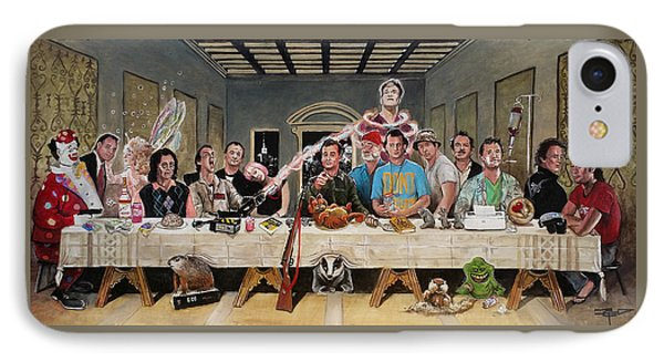 Bills Last Supper IPhone Case by Tom Carlton