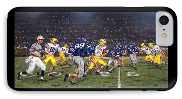 Billy Cannon's Halloween Heisman Haul IPhone Case by Mike Roberts