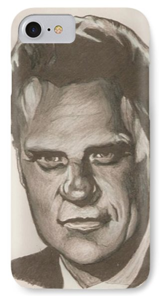 Billy Graham Drawing Phone Case by Robert Crandall