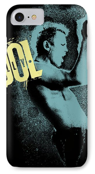 Billy Idol - Graffiti Art IPhone Case by Epic Rights