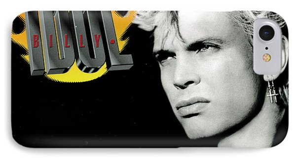 Billy Idol - Greatest Hits 2001 IPhone Case by Epic Rights