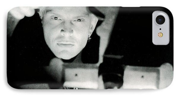 Billy Idol - Greatest Hits Inner Sleeve 2001 - Charmed Life IPhone Case by Epic Rights