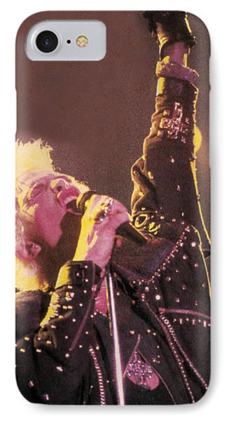 Billy Idol - Greatest Hits Inner Sleeve 2001 - Rebel Yell IPhone Case by Epic Rights