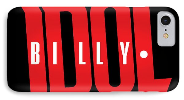 Billy Idol - Logo IPhone Case by Epic Rights