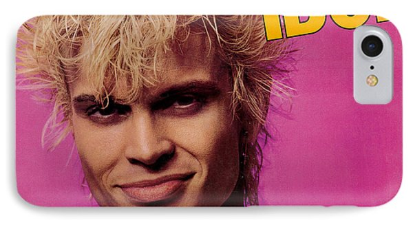 Billy Idol - To Be A Lover 1986 IPhone Case by Epic Rights