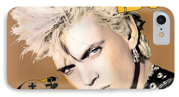 Billy Idol - Whiplash Smile 1986 IPhone Case by Epic Rights