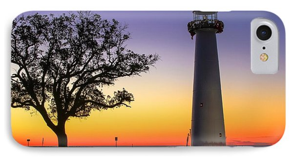 Biloxi Lighthouse IPhone Case by Brian Wright