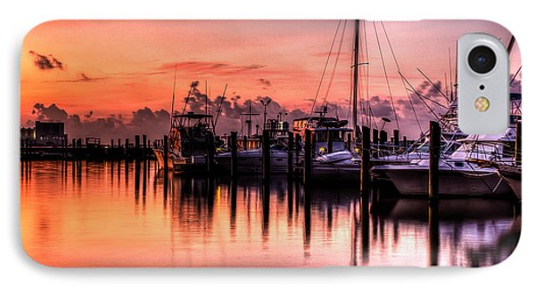 IPhone Case featuring the photograph Biloxi Mississippi Harbor by Maddalena McDonald
