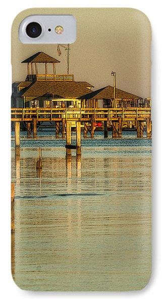 Biloxi Schooner Pier IPhone Case