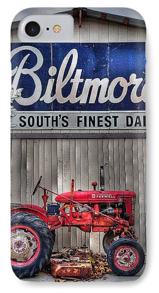 IPhone Case featuring the photograph Biltmore Farmall by Craig T Burgwardt