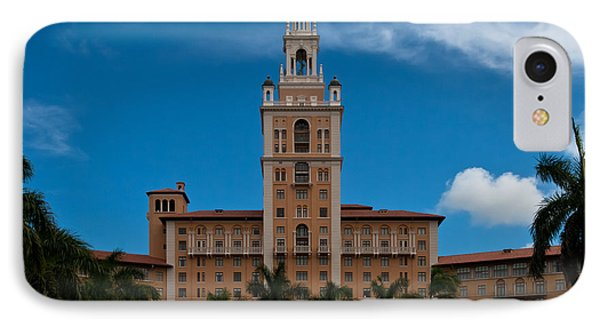 Biltmore Hotel Coral Gables IPhone Case by Ed Gleichman